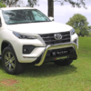 Toyota Fortuner Honeycomb Nudge Bar Stainless | Legend 50