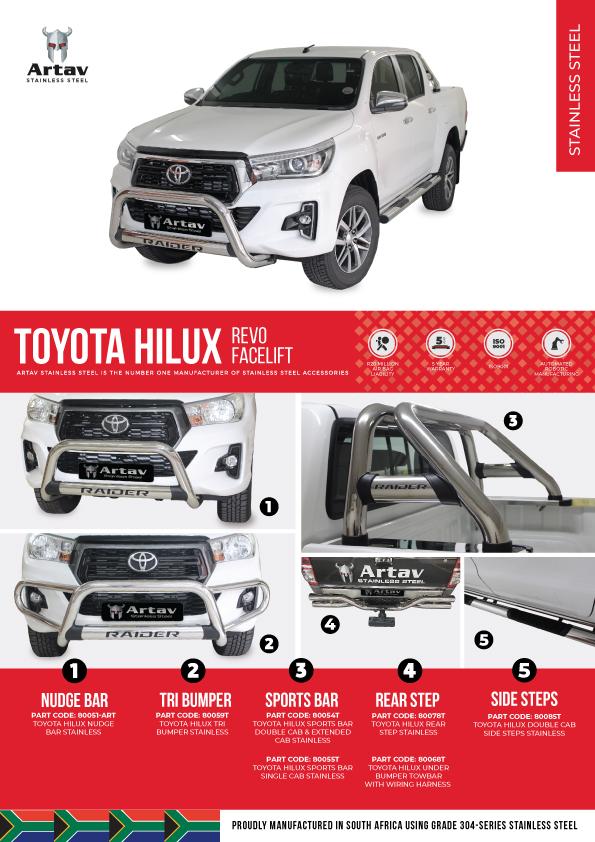 Toyota Hilux Revo Facelift Artav