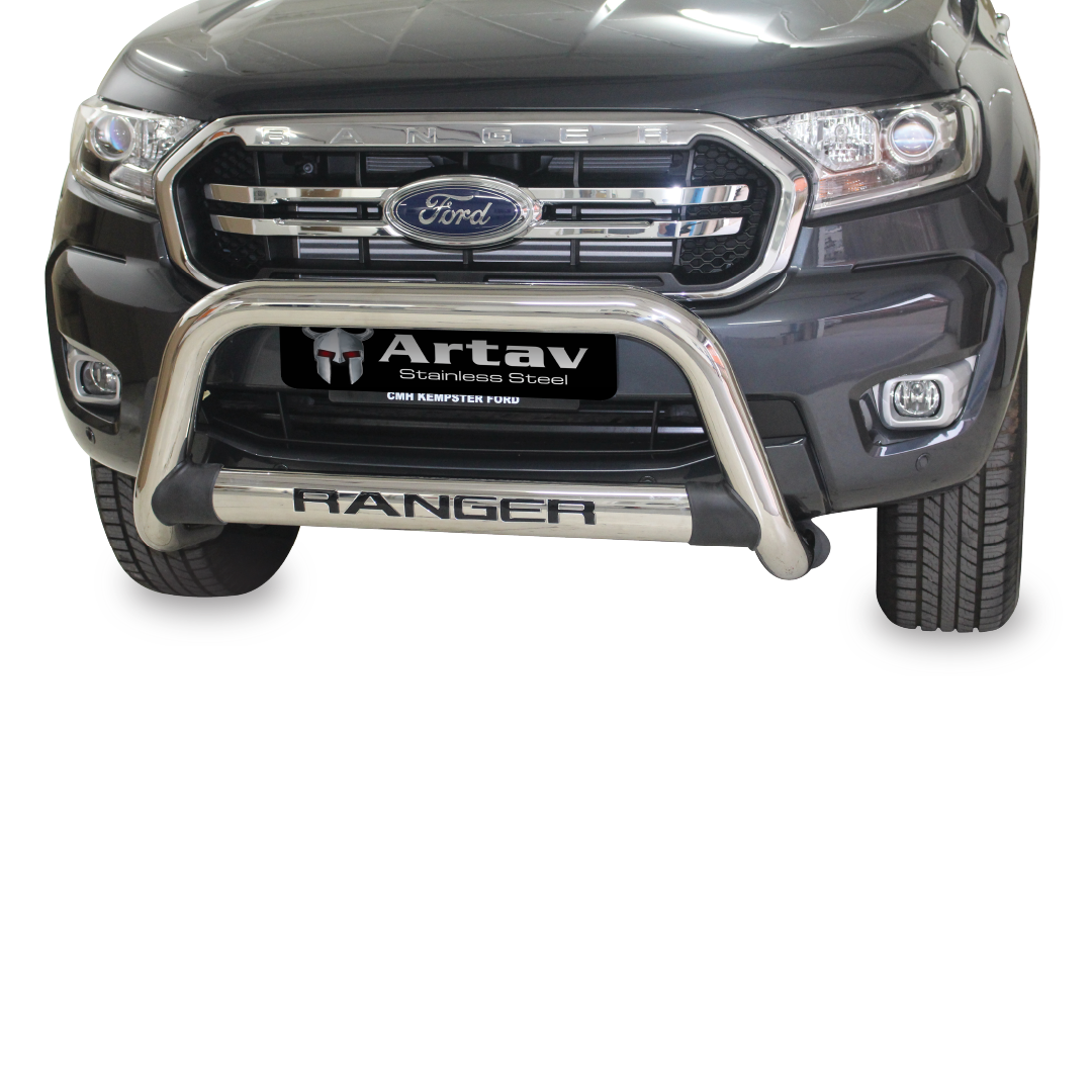 Ford Ranger T6 Nudge Bar Stainless