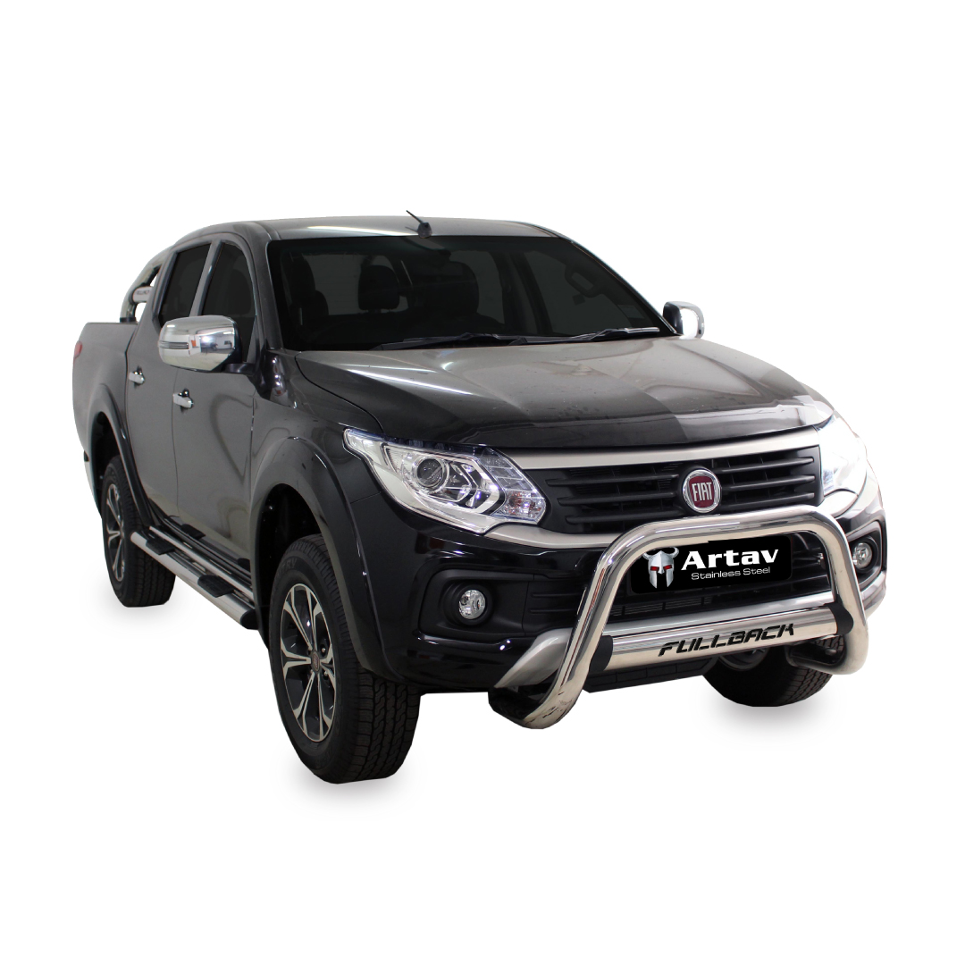 FIAT Fullback Nudge Bar Stainless