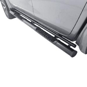 Isuzu DMAX Side Steps Extended Cab Black