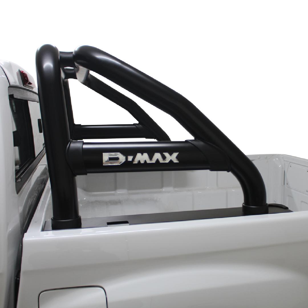 Isuzu DMAX Sports Bar Single Cab Black