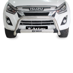 Isuzu DMAX Nudge Bar Stainless (Fits MUX Model - Request MUX Decal on order)