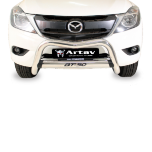 Mazda BT50 Facelift Nudge Bar Stainless