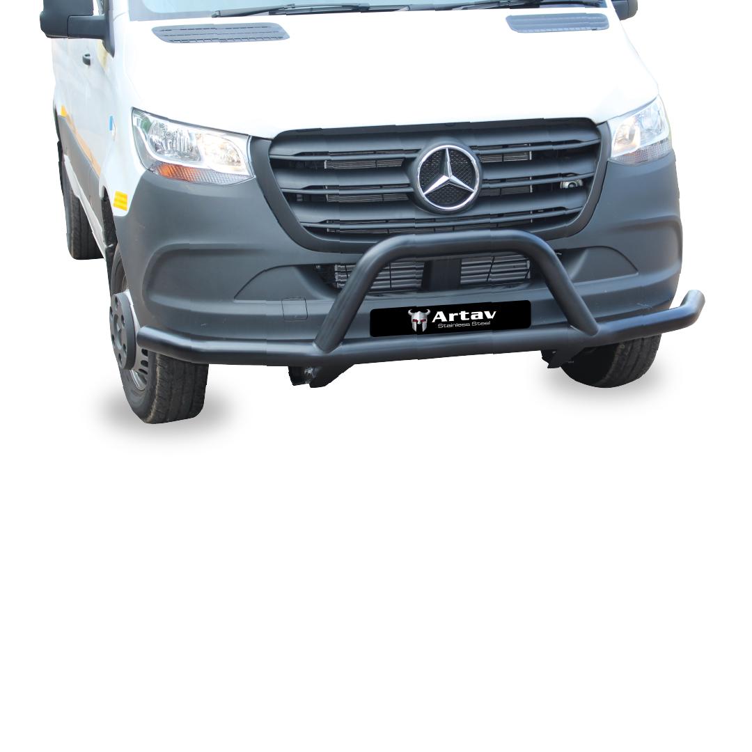 Mercedes Sprinter Front Styling Bar Black