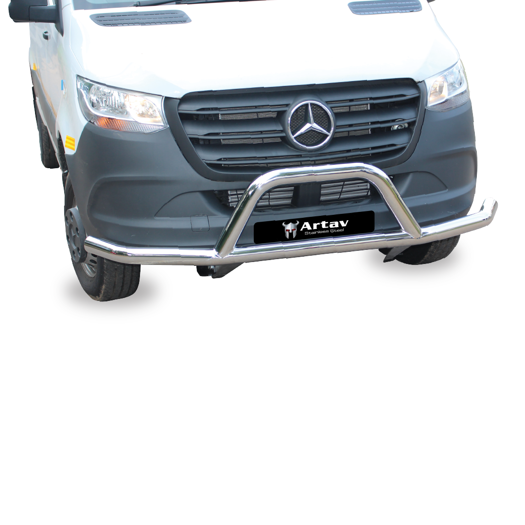 Mercedes Sprinter Front Styling Bar Stainless