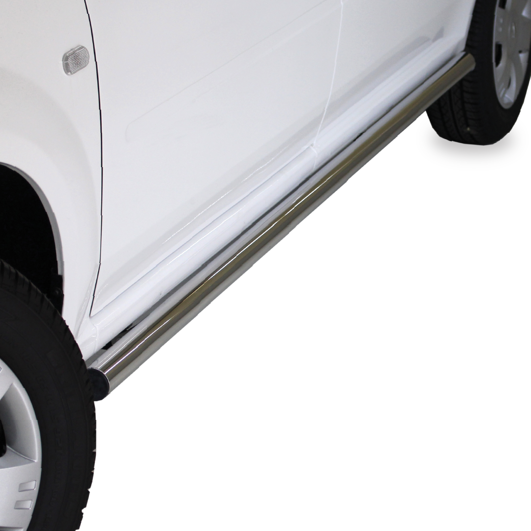Nissan NP200 Side Bars Stainless