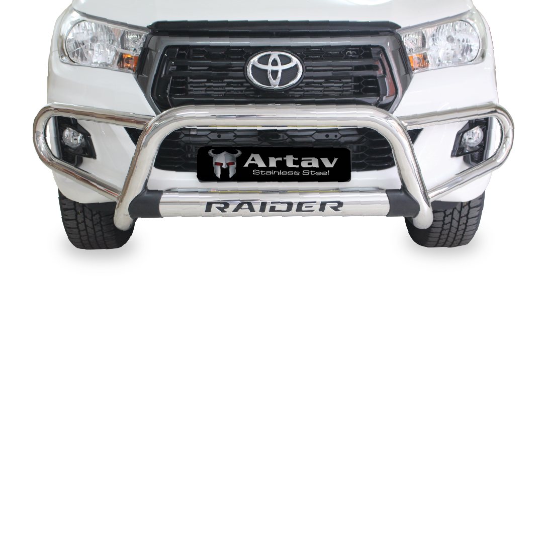Toyota Hilux Tri Bumper Stainless