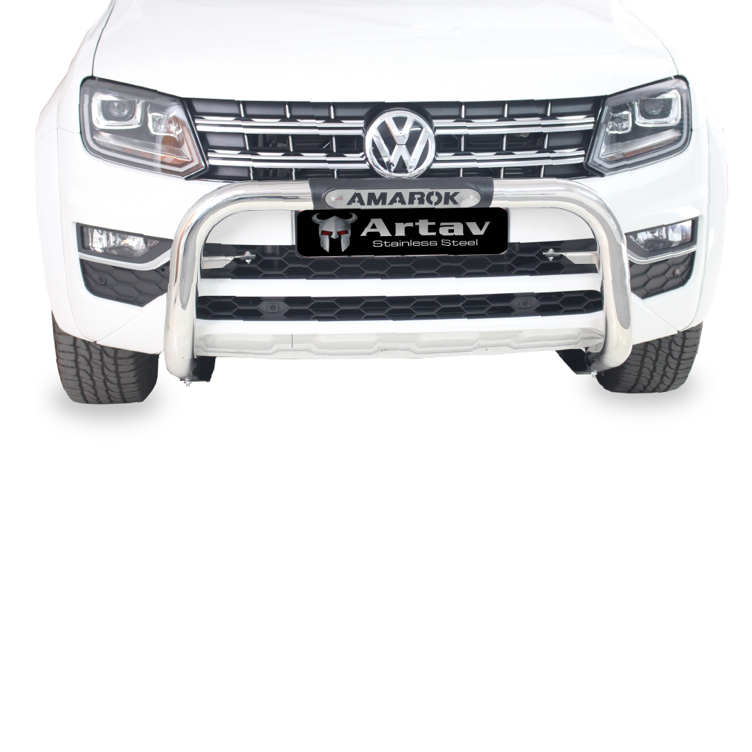 VW Amarok Facelift PDC Nudge Bar Stainless