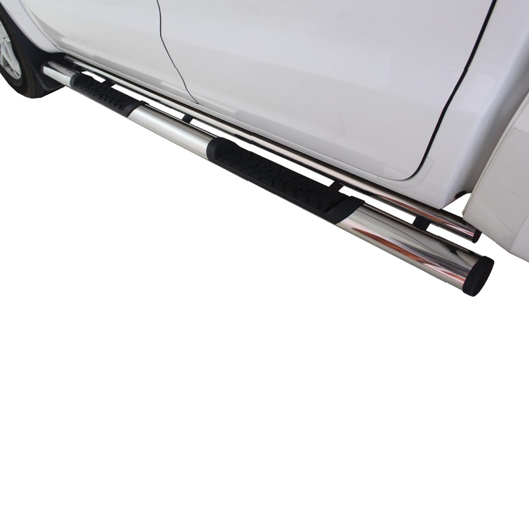 VW Amarok Side Steps Double Cab Stainless