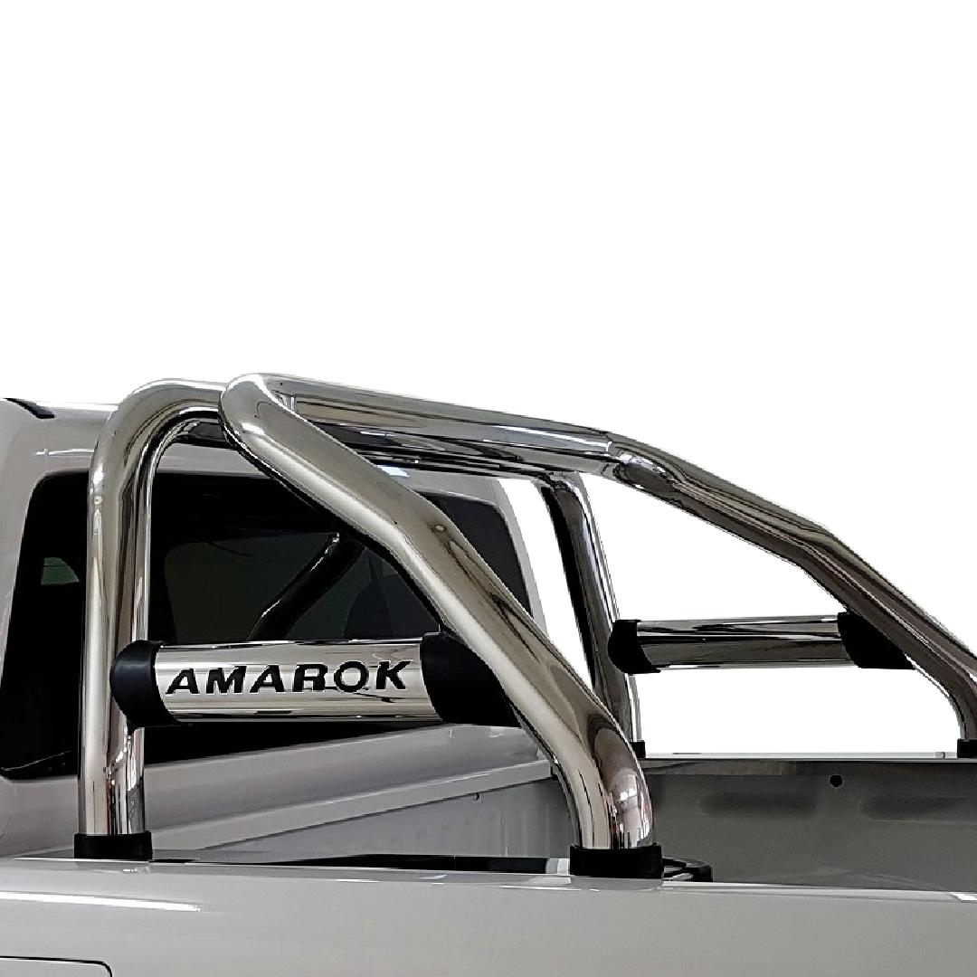 VW Amarok Facelift Sports Bar Stainless