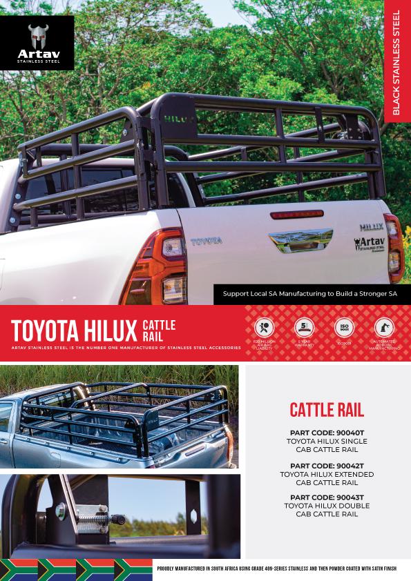 Toyota Cattle Rail